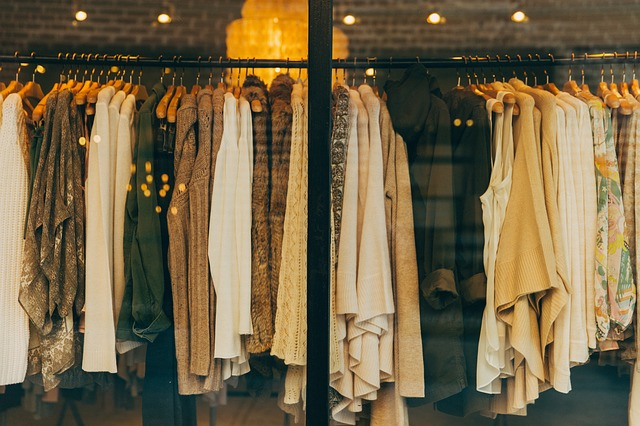 boutique de vêtements