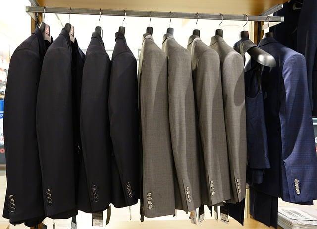 des vestes de costume