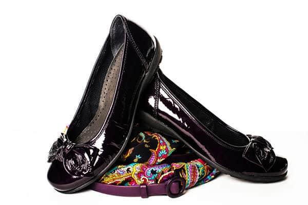 des chaussures ballerines