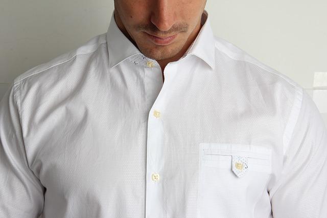 chemise homme froissée