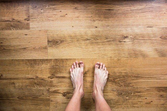 pieds d'homme