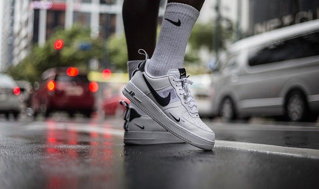 des sneakers nike air blanches