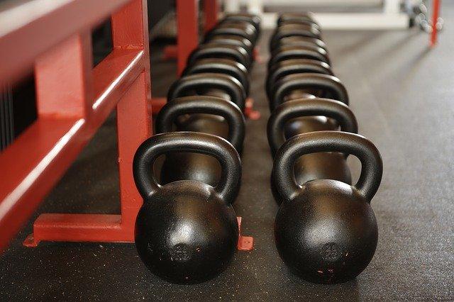des poids de musculation